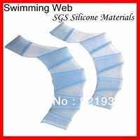 swimming fins for hands silicone sailor webbed palm flying webbed gloves men and women swim fins bracelets flipper