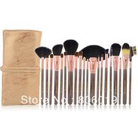 20Pcs Eyeshadow Cosmetic Makeup Brush set Kit + Case