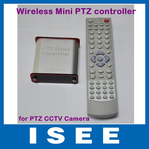 Christmas Big sale Wireless Keyboard Controller for PTZ CCTV Camera Kit Free Shipping(China (Mainland))