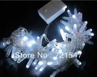 High quality blister glue waterproof LED lights series,  tiny spots Christmas tree decoration,Pure white 10m/100pcs.