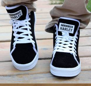 Spring and autumn martin boots high-top shoes male the trend of fashion casual shoes men fashion shoes attached the skates shoes