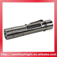 UniqueFire UF-G7 Cree XM-L2 T6 LED 5-Mode 1300 Lumens Flashlight (1 x 18650) - Stainless Steer