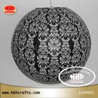 "30cm 12"" unique round paper lantern for home ceiling hanging decoration"