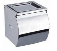 Weazands rack stainless steel paper holder full closed ashtray tissue box toilet paper holder 2201