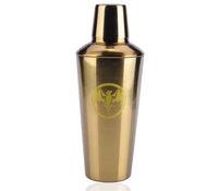 1000ml golden stainless steel cocktail shaker commemorative edition shake pot
