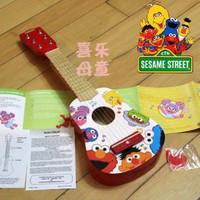Sesame street sesame street wooden guitar child guitar baby guitar