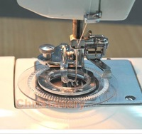 2pcs Fancy Flower Stitcher Foot For Brother Janome Singer Sewing Machines Low Shank