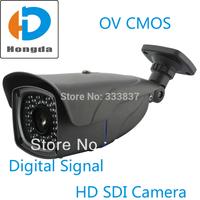 "1/3"" OV CMOS 2 Megapixel Full HD 1080P Waterproof SDI camera outdoor 2.8-12mm Digital signal Security CCTV Video Cam Free ship"