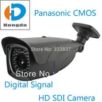 Free ship Full HD 1080P Panasonic CMOS 2.2 Megapixel Waterproof SDI Camera outdoor 2.8-12mm WDR security cctv cam Digital Signal