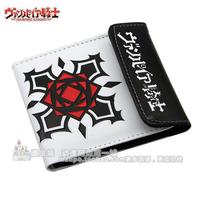 Cartoon wallet shebian strap buckle wallet rose mark of pattern wallet