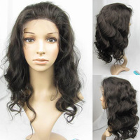 Free Shipping in Stock 8inch-26inch REMY 100% Indian Human Wigs Full Lace Wig Glueless Wigs(Full--0031)