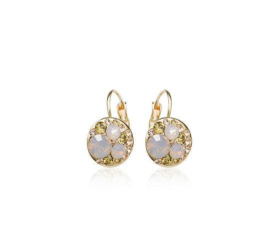 Free shipping Special Light pink opal earrings 88106200360470BB Mickey(China (Mainland))