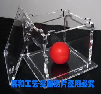 Acrylic display box dust cover supplies gift box decoration box