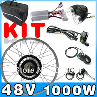 48V 1000W E-bike kit   Electric bicycle Conversion Kit , Front or Rear Hub Motor