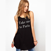 Free shipping take me to paris belt black sweep tank dress
