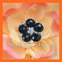 Free Shipping!100pcs 23mm Rhinestone Embellishment with loop .Rhinestone Button