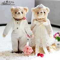 Wedding bear lovers 10/20 / marriage filmsize doll wedding gift