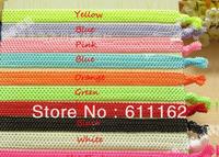 100pcs 10 Color Loop Net Headband for Baby Girl Headwear Hairband Hairband Hair Accessories Hair elastics New Arrival