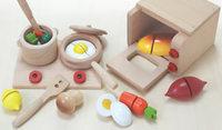 wooden toys Wood oven stove bundle 0.8kg