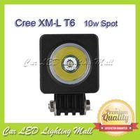 CREE 10W Square Led Work Light Spot Beam OffRoad 4X4 4WD Boat Lamp SUV ATV CAR FreeShipping