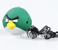 Free shipping 3.5 Line in Bird design TF USB portable mini speaker for MP3/MP4/NOTEBOOK/PC/MD/IPOD