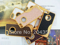 Luxury S Line Chrome Hard Bling Electroplate Case For iPhone 5 5S Football Style via DHL 100pcs/lot
