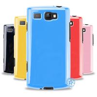 For SAMSUNG   i8350 jelly case mobile phone sets protective case silica gel set phone case soft case