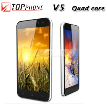 Hot!Original Vowney V5 Quad smart cell phone 5.0 IPS screen FHD Android 4.2.1 Unlocked 3G GPS