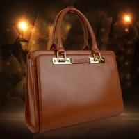 New 2014 New Genuine Leather Women Messenger Bags Women Handbag Women Bag Fashion Bags Tote Free Shipping RL012