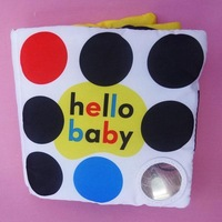 Baby cloth baby black-and-white books big priddy books - newborn early development free shipping $5 off per $50