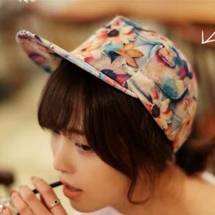 Dahong flower popular hiphop baseball hip-hop cap hiphop female