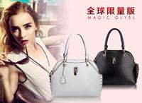 2013 fashion summer vintage fashion genuine leather one shoulder double-shoulder female bags handbag bags duomaomao i