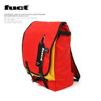 Fuct preppy style backpack school bag male women's handbag laptop bag travel bag casual bag