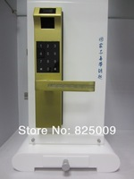 Electric panel digital keypad code door lock with RF Card fingerprint door lock