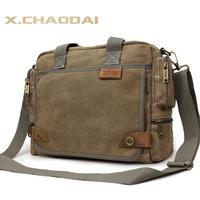 Fashion canvas bag male casual handbag cross-body/travel/multifunctional bags men messenger bag