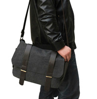 Fashion men Messenger Bag Male shoulder bag cross-body messenger travel bags casual /student school bags
