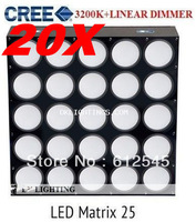 20pcs free shipping to usa 25pcs*3W Warm white Cree led blinder effect stage light dmx 2013 newest wall light linear bar light