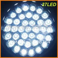 Free shipping super white round DC12V 37LED interior car roof ceiling light lamp