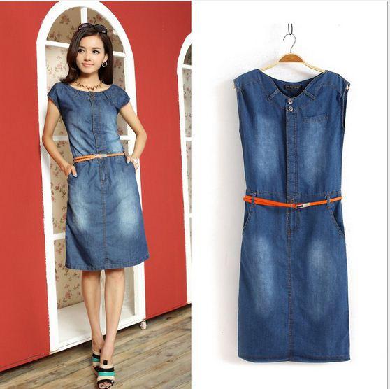 Платья из джинсовой ткани своими руками 39