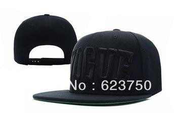 ALL Black Vogue Snapback caps most popular mens baseball hats fashion hip hop cap classic Skatebord sports caps Free Shipping