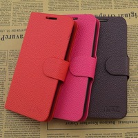Free Shipping Top Quality Series leather case for ZTE N909 cell phone Classic design