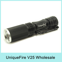 Wholesale UniqueFire UF-V25 CREE XP-G R5 Zoomable LED Flashlight Torch Lamp Light 450LM (1*AA battery) Drop Shipping