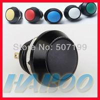 10pcs/lot dia.12mm 1NO IP65 anti-vandal  momentary push reset metal stainless steel push button switch shipping free