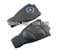 Free shipping for benz 3 BUTTONS SMART REMOTE KEY FOB CASE COVER