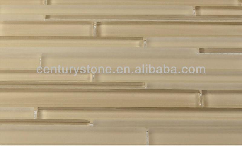beige glass tile sheets kitchen backsplash tiles jpg