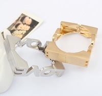 Free shipping Europe exaggerated retro LOVE bracelet series