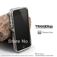 10PC/Lots DHL Free TRIGGER 4th Design Blade limited edition Aluminum metal Bumper Case For IPhone 5 Fashion and COOL