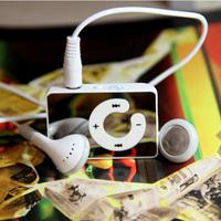 New listing mirror the C key card clip MP3 mini-compact, stylish and elegant card MP3 clip