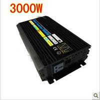 Free Shipping, 3000W Off Grid Tie Inverter DC12V/24V/48V Pure Sine Wave Inverter for Wind Turbine/Solar System, 6000W Peak Power