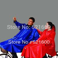 Paradise Rain Poncho Raincoat Rain Coat Rainwear Sleeve for Bicycle N122 Motorcycle Windproof Clip Extra Large Free Shipping